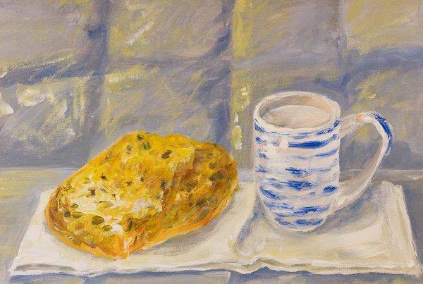 Cup of milk | Art Lasovsky