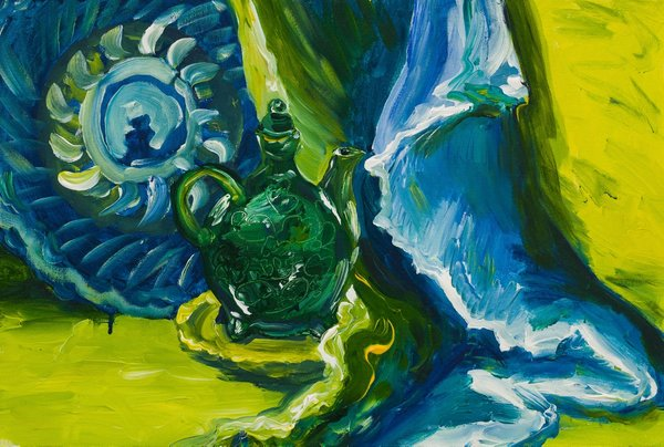 Oriental green | Art Lasovsky