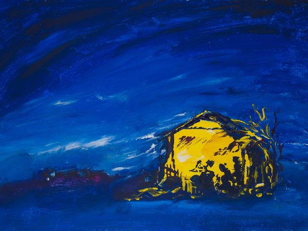 Savior is born! | Art Lasovsky