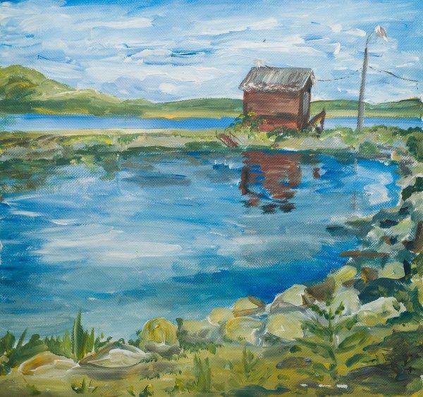 Inner Lake | Art Lasovsky