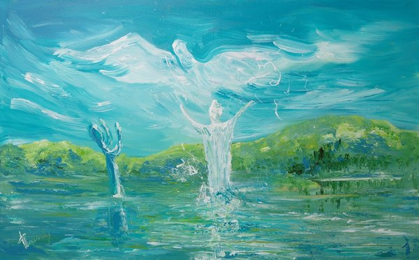 The Baptism of Jesus | Art Lasovsky