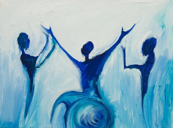 At the Hands of prayer | Art Lasovsky