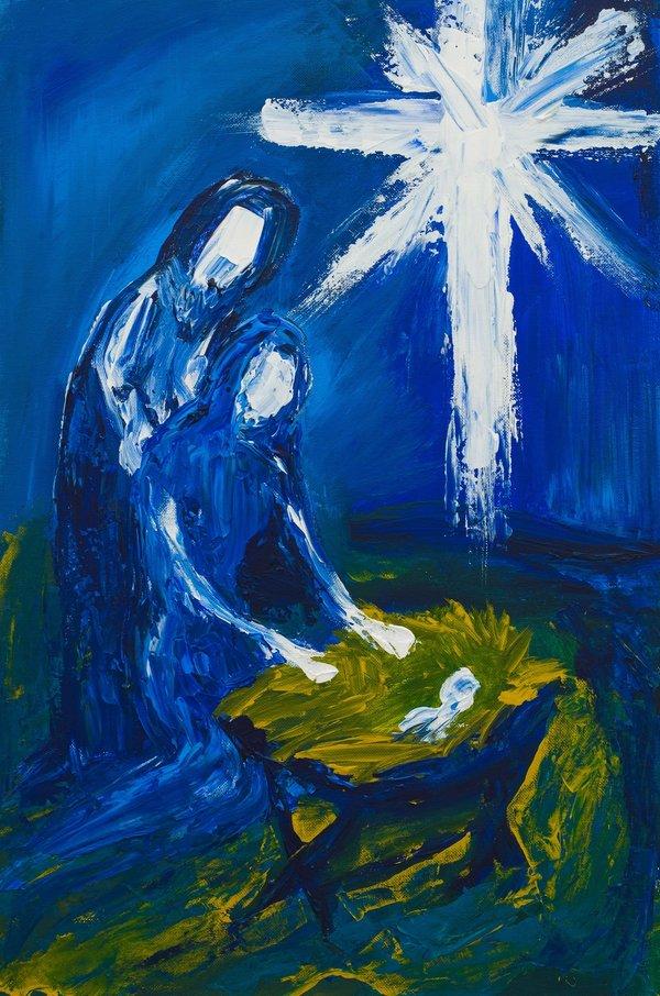 Christmas manger | Art Lasovsky
