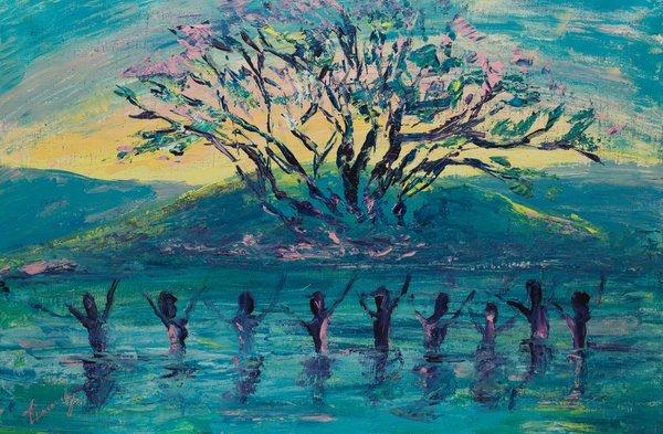 The river of Joy | Art Lasovsky