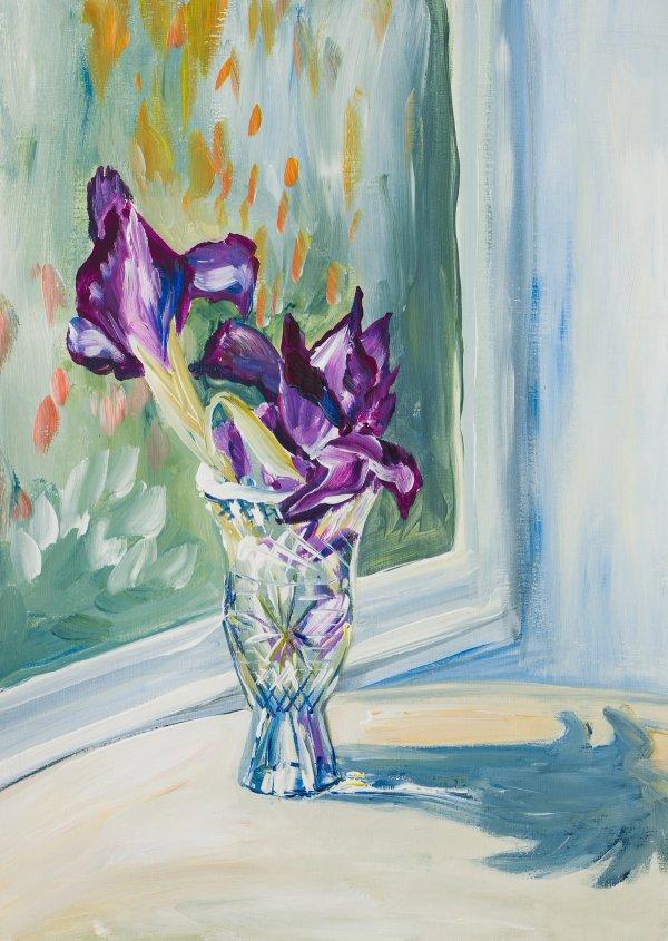 Sword lily   Art Lasovsky