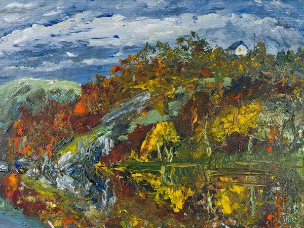 Autumn in reflection | Art Lasovsky