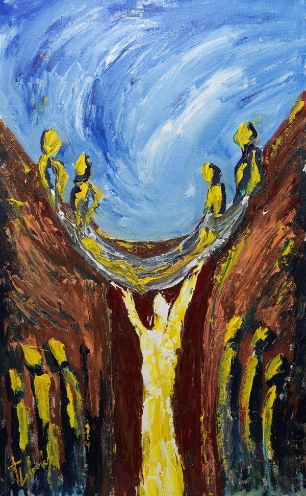 Healing in Capernaum | Art Lasovsky