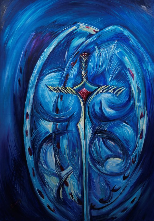The Lord is my strength and my shield | Art Lasovsky
