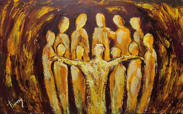 Prayer for Unity | Art Lasovsky
