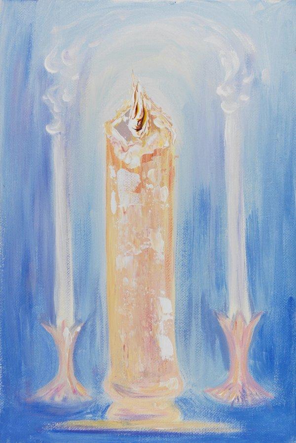 Wedding candle   Art Lasovsky