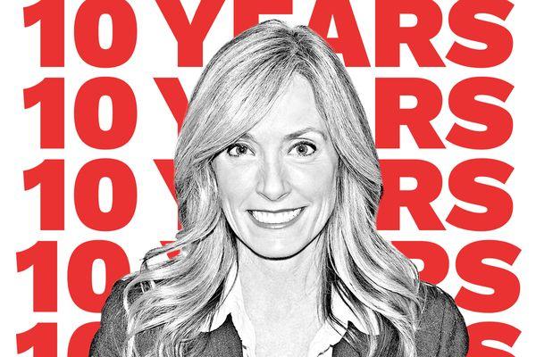 Kathy McCuskey 10 years