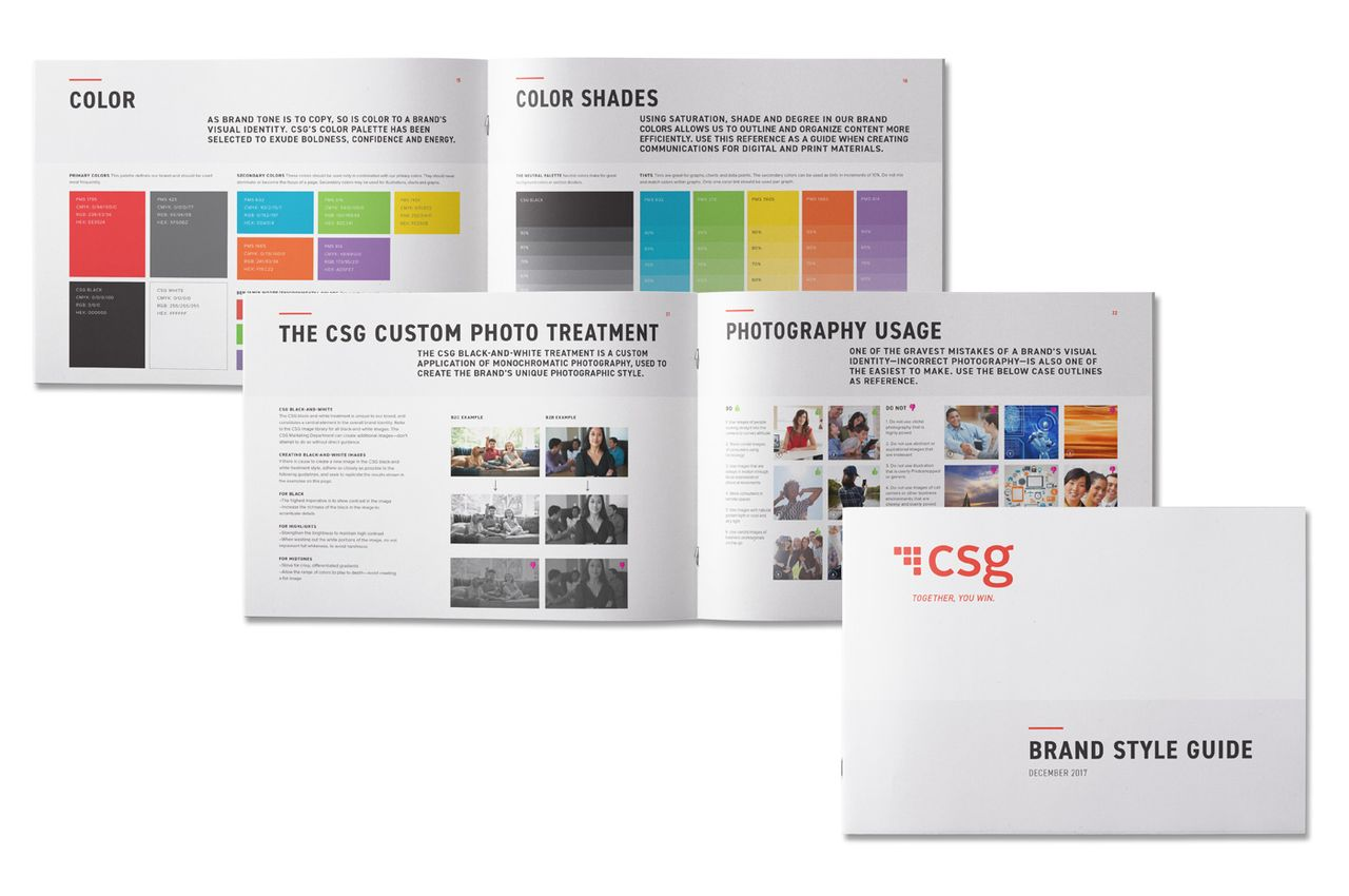CSG Brand Style Guide