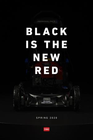 Black is the new red