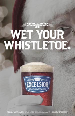 Wet your whistletoe