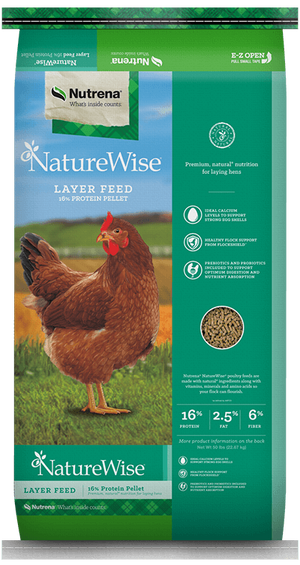 NatureWise Layer Feed - Packaging