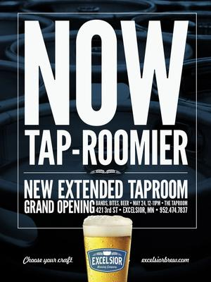 Tap-roomier poster