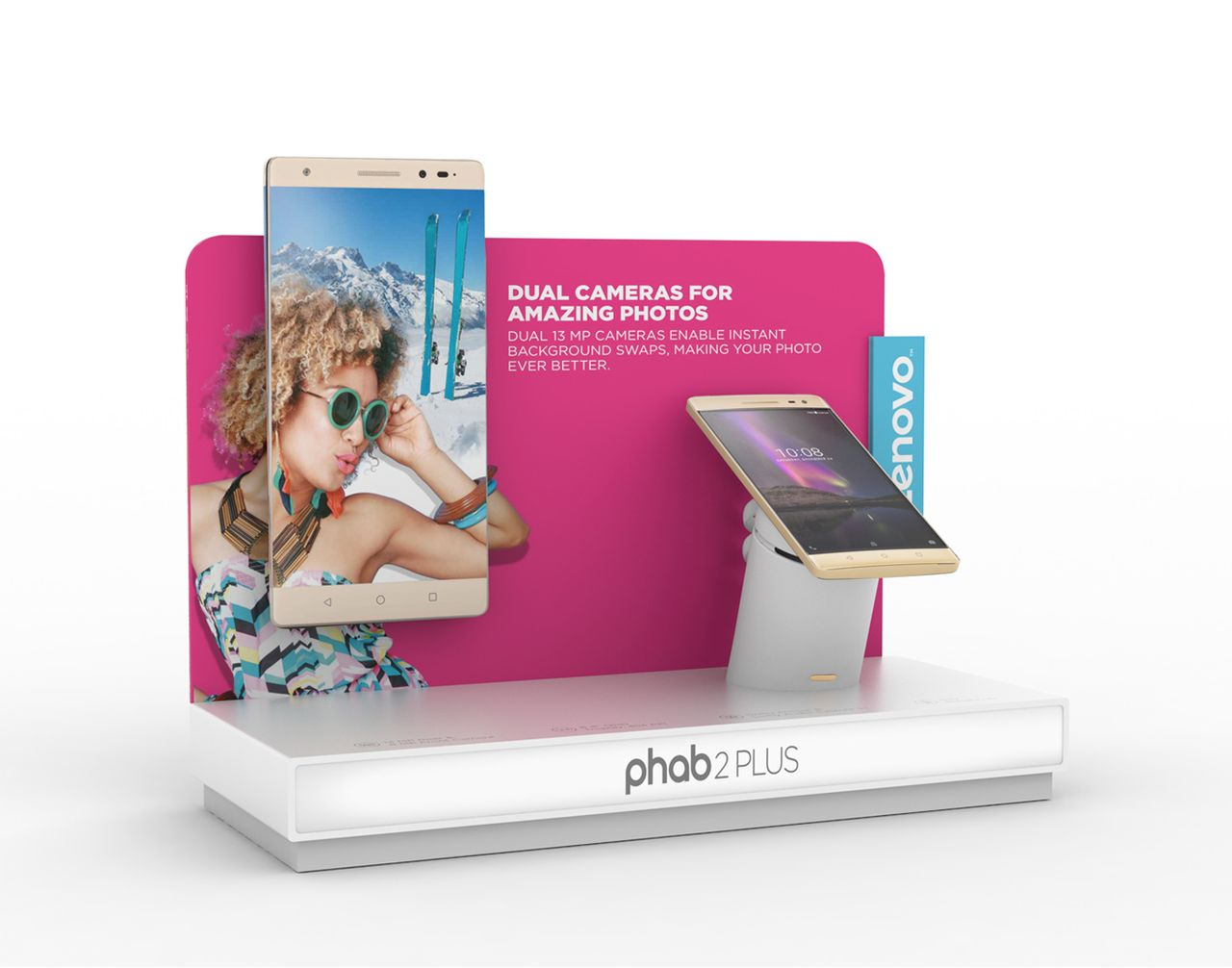 Phab2 retail display