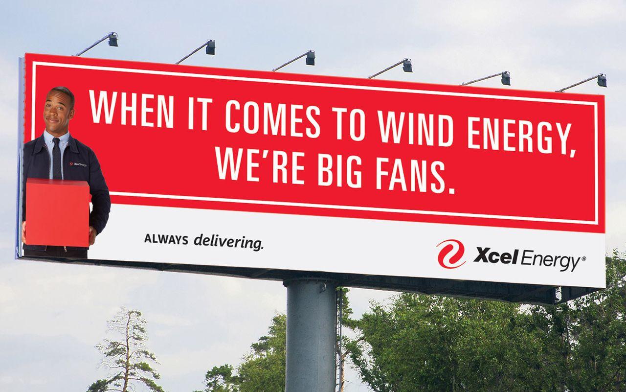 Xcel Billboard Wind Energy