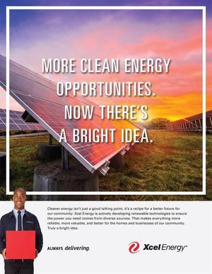 Xcel Solar Energy Print Ad