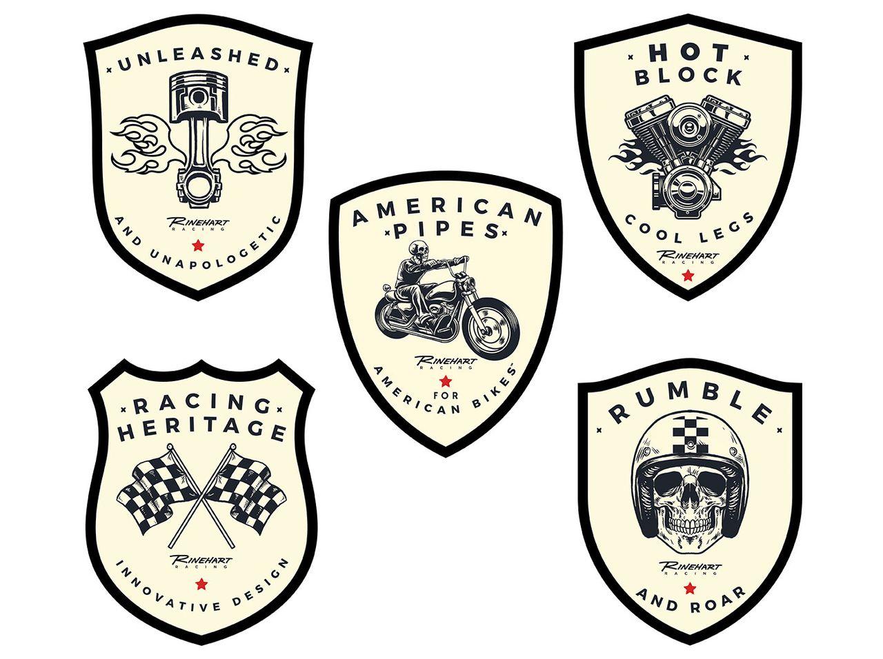 Brand badges
