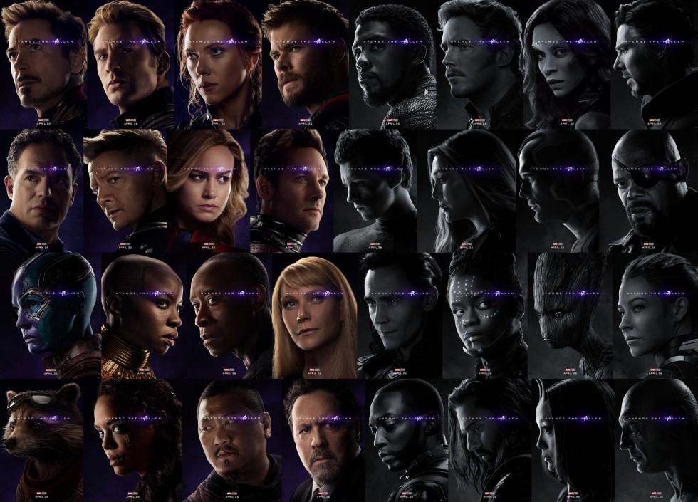 Avengers Endgame Teaser Posters