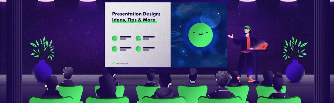 Presentation design ideas and examples