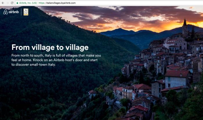 Airbnb Italian Sabbatical