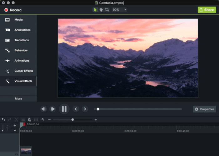 Preview of Camtasia