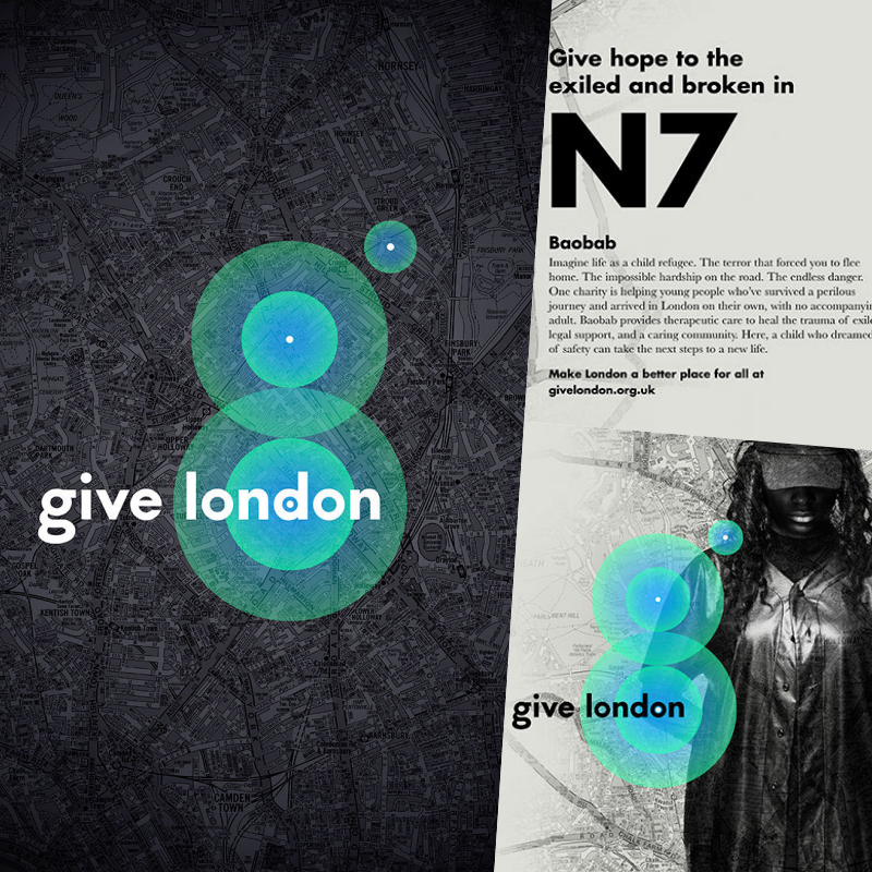 Give London brand identity