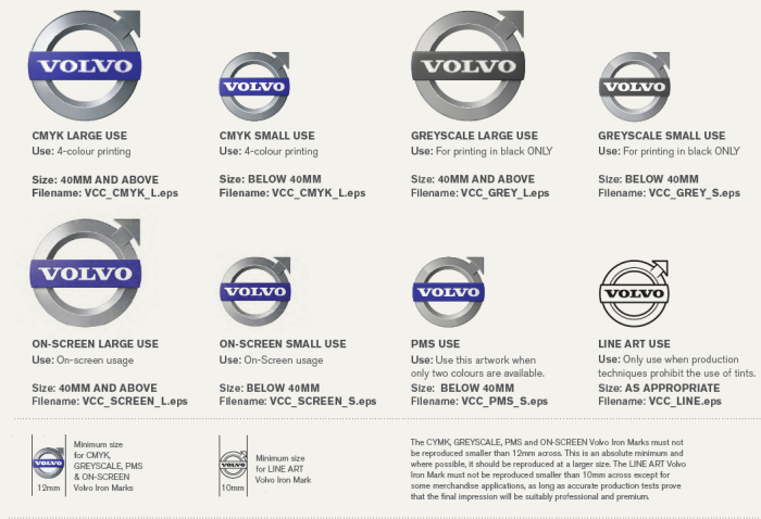 Volvo brand style guide