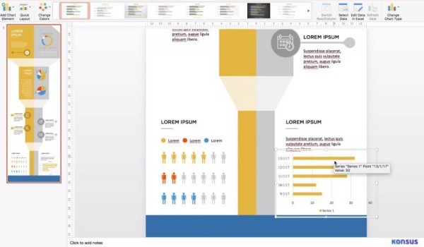 Create infographic using PowerPoint