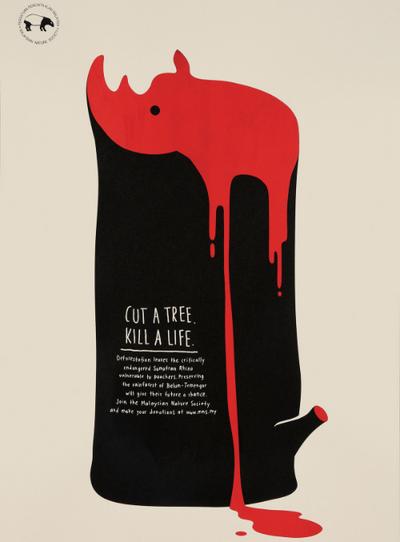 Cut A Tree. Kill A Life