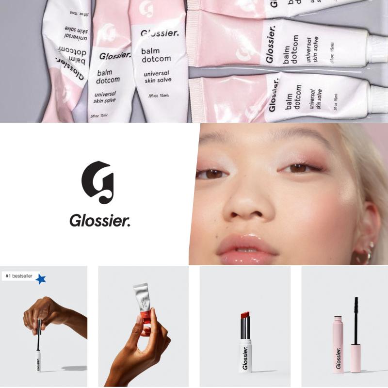 Glossier brand identity