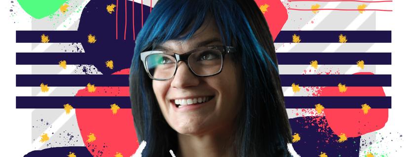 Jasmine Friedl, the director of design at Intercom