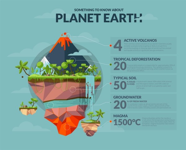 Organic & Natural infographic sample