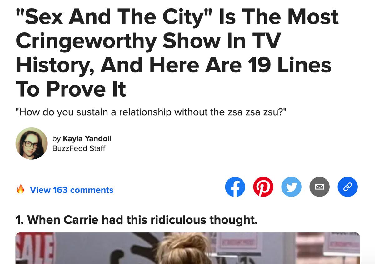 Buzzfeed clickbait examples