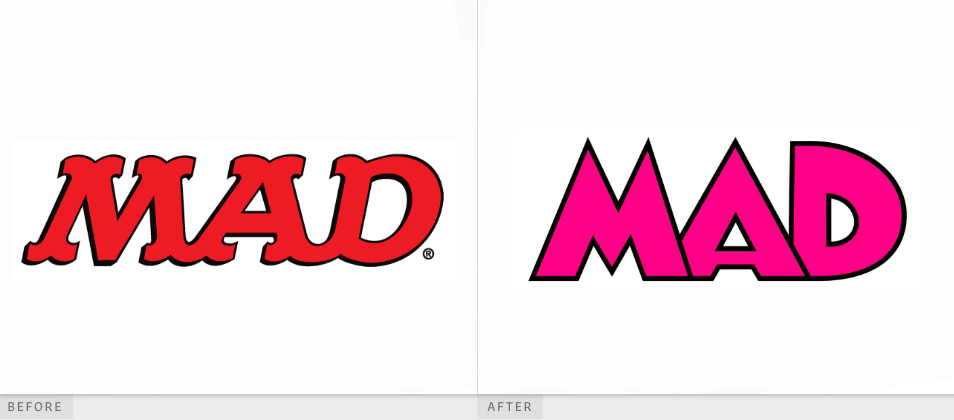 Mad magazine logo