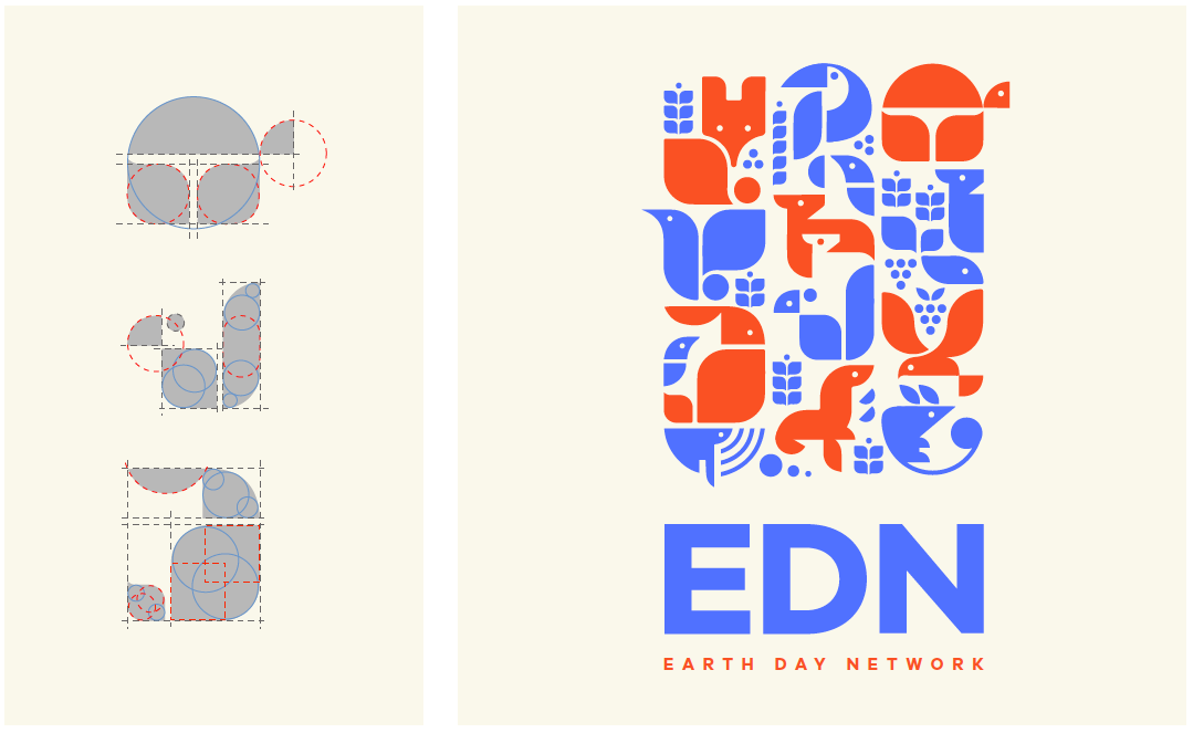 Earth Day Network logo inspiration