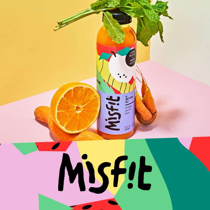 Misfit brand identity