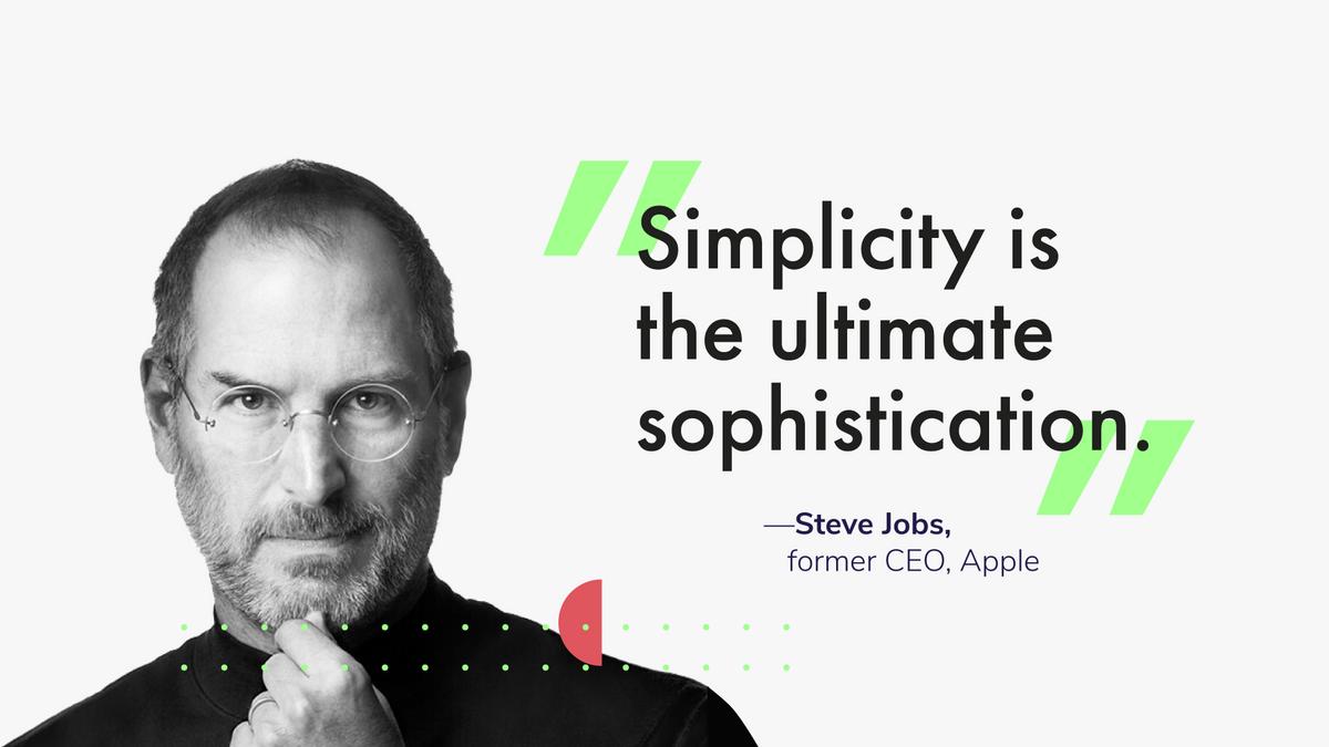 Steve Jobs, former CEO, Apple