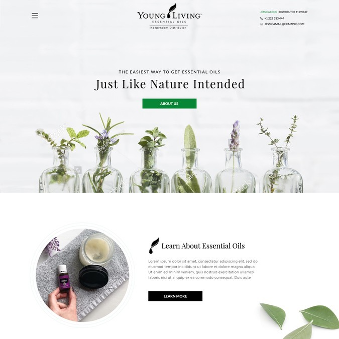 My Oil Marketing Client Site Redesign