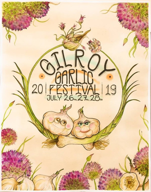 Gilroy Garlic Food Festival poster