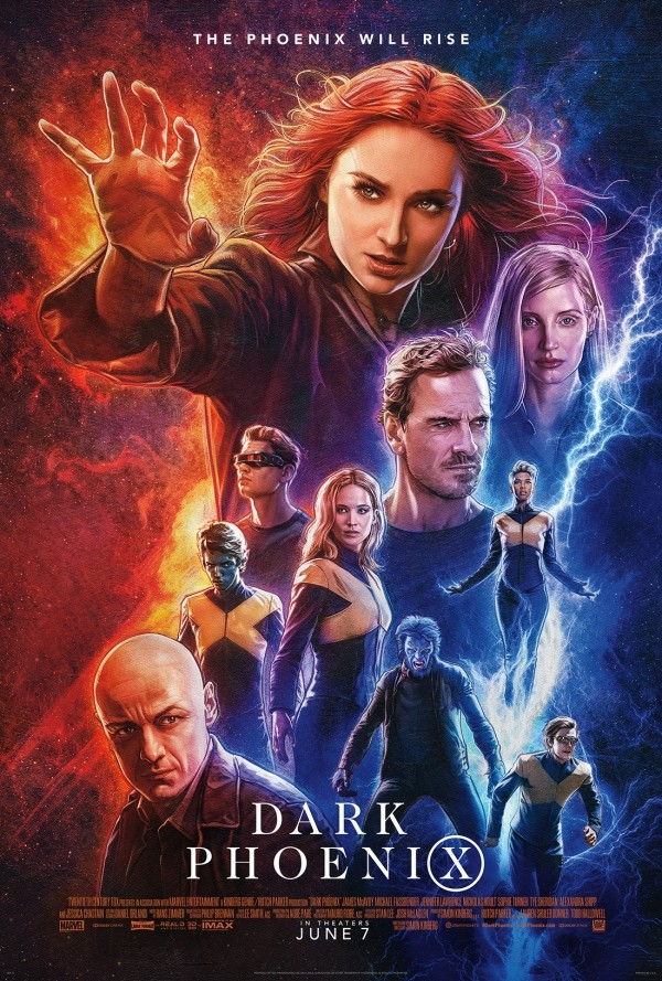 X Men: Dark Phoenix movie poster