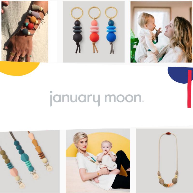 January moon brand identity