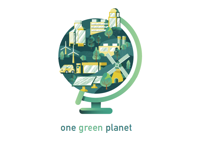 One Green Planet logo redesign by Superside