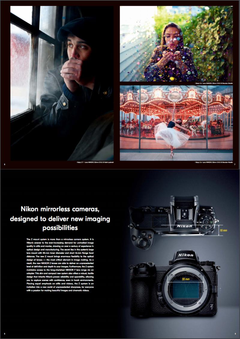Nikon brochure