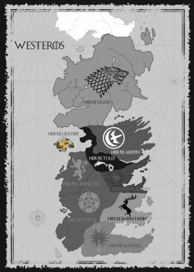 House Greyjoy Map