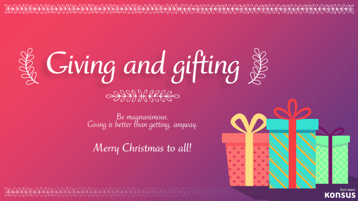 Giving and Gifting Card