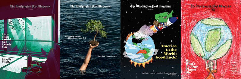 The Washington Post Magazine – 24 Magazine Covers About Climate Change 2