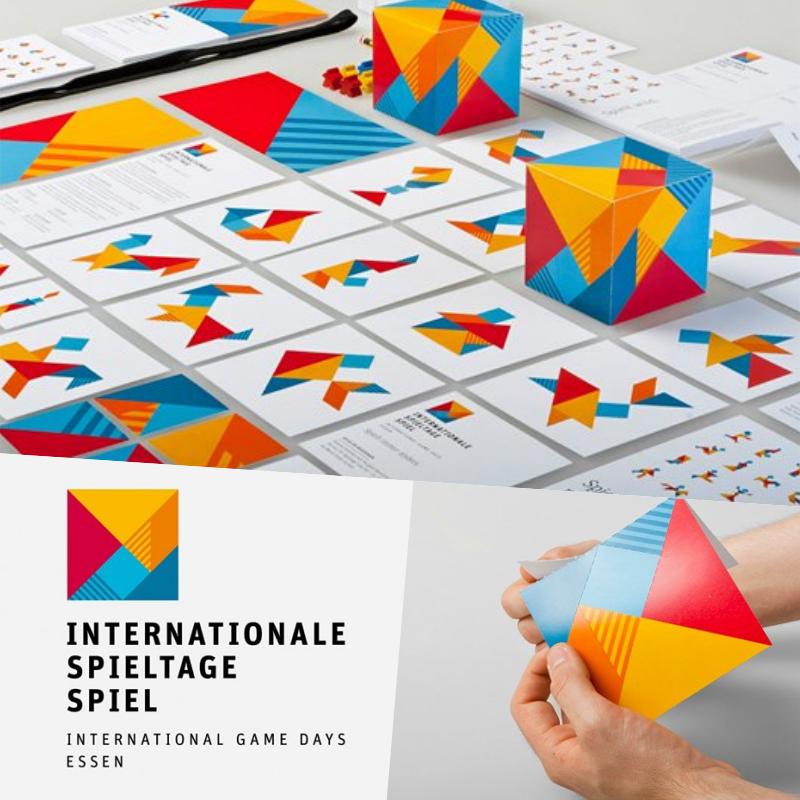 International Spieltage brand identity